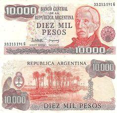 Argentina (1970-1983) - 10000 pesos