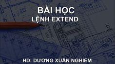 Bài 23 | Lệnh EXTEND | Hướng dẫn sử dụng AutoCAD (Lồng tiếng VIỆT + Full...