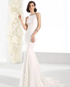 Estilo, sofisticación y pasión. Modelo Laila by Pepe Botella #vestidodenovia #novia2017 #novia #moda #fashionbridal #pepebotella #weddingdress #bridal http://gelinshop.com/ipost/1521606559426489109/?code=BUd1RqehSsV
