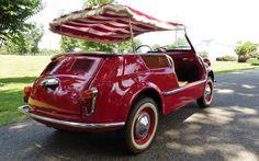 Fiat Nuova 500 Jolly Beach Carrozzeria Ghia (1958-1966)