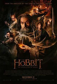 The Hobbit: The Desolation of Smaug 11x17 Movie Poster (2013)