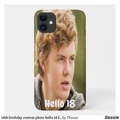 birthday custom photo hello 18 for guys iPhone 11 case Iphone 11, Iphone Cases, Iphone Accessories, Custom Photo, Plastic Case, Art For Kids, Teen Birthday, Birthday Gifts, Birthday Ideas
