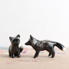 Silver Fox Totem  Le Stealthy Silver Fox Totem by leanimale