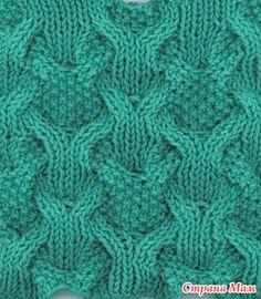 Красивые узоры спицами - Вязание - Страна Мам