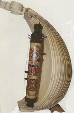SASANDO, a traditional harp-like musical instrument of palm leaves from Rote island (Indonesia).