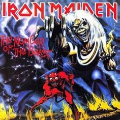 iron maiden album cover