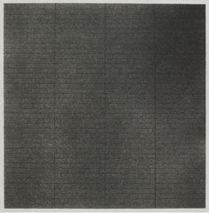 "graphite on aquatint ground, 12-1/2"" x 12-3/4"" (31.8 cm x 32.4 cm), © 1962 Agnes Martin /Artists Rights Society (ARS), New York / Photo by Kerry Ryan McFate"