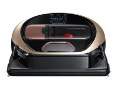 Samsung Powerbot Pet Robot Vacuum, x x Satin Gold - Save time and effort by letting the Samsung POWERbot Pet Robotic vacuum handle the vacuuming for you. The POWERbot delivers more powerful cleaning on all floor types when compared to a conventiona. Home Depot, Modern Home Electronics, Cleaning Master, Welcome To The Future, Best Vacuum, Samsung, Works With Alexa, Smart Home, Robot
