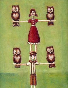 'Molly and Pete's Owl Tree' by Heather Future