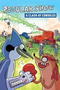 Not A Clash Of Kings...A Clash Of Consoles: New Regular Show GN ...