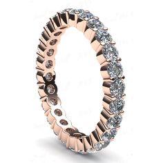 1.30 Karat Memory Diamantring aus 585er Rosegold bei www.juwelierhausabt.de für nur 1399.00 Euro bestellen.