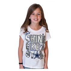 Dallas Cowboys Justice Short Sleeve Shine Tee 6c5557f14