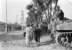 Truppe alleate a San Paolo fuori le Mura (1944)