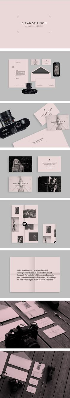 Eleanor Finch Photography by Sam Lane, via Behance | #stationary #corporate #design #corporatedesign #identity #branding #marketing < repinned by www.BlickeDeeler.de | Take a look at www.LogoGestaltung-Hamburg.de