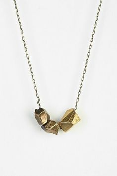 Cold Picnic Talking Rocks Charm Necklace - Urban Outfitters