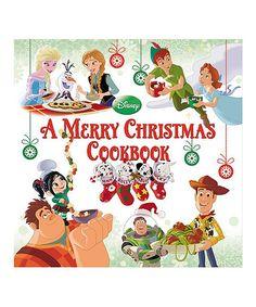 Disney A Merry Christmas Cookbook Hardcover | zulily