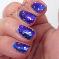 """An """"Atmosphere"""" manicure just for Kaskade."""