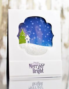 May Your Christmas Be Merry created by Jennifer Rzasa for the Simon Says Stamp Blog.  Die-Cember 2013