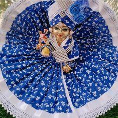 Ladoo Gopal, Krishna Radha, Hand Fan