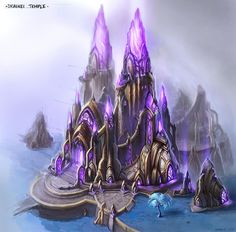 Draenei Temple by Jimmy Lo
