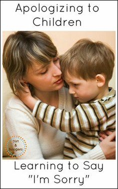 Apologizing to Kids: Who's Really Taking the Blame? -