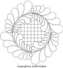 feather quilting designs free - Pesquisa Google