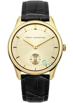 French Connection, Omega Watch, Black Leather, Watches, Accessories, Collection, Wristwatches, Clocks, Jewelry Accessories
