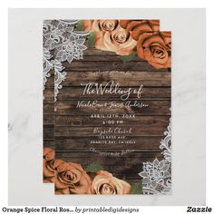 Fall Wedding Colors, Wedding Color Schemes, Rustic Wedding Colors, Wedding Invites Rustic, Rustic Country Wedding Decorations, Country Wedding Themes, Elegant Wedding, Floral Wedding, Wood Themed Wedding