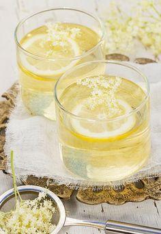 Elderflower, Limoncello, V8 Juice, Love Natural, Beverages, Drinks, Italian Recipes, Natural Health, Panna Cotta