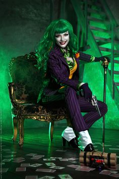Female Joker cosplay 6 - HydraEvil