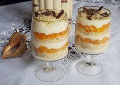 Egy vaníliás alapkrém, amely bármilyen pohárkrémhez felhasználható, most… Hungarian Recipes, Hungarian Food, Chia Puding, Trifle, Confectionery, Cakes And More, Tiramisu, Mousse, Paleo