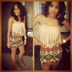 <3 Cool, I actually have the same skirt. Love the top.
