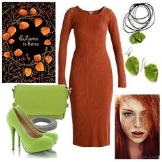 Modne sukienki na jesień Earth Tones, Hot, Polyvore, Outfits, Image, Fashion, Tall Clothing, Moda, Fashion Styles