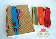 Neat Idea! - We all need accessories and my journals need accessories too.