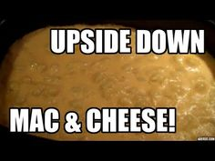 Upside down Macaroni & Cheese - Ninja Cooking System - YouTube