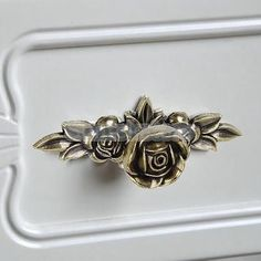pretty rose knobs