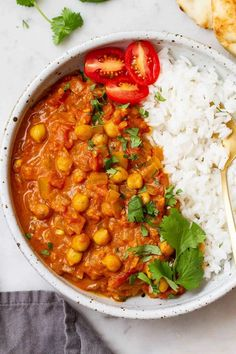 Chickpea Tikka Masala recipe - Dinner is on with this flavorful