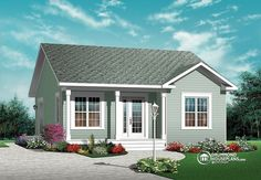 Build your ideal home with this Country house plan with 2 bedrooms(s), 1 bathroom(s), 1 story, and 835 total square feet from Eplans exclusive assortment of house plans.