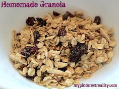 1000+ images about Granola on Pinterest | Homemade kind bars, Granola ...