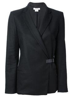 Helmut Lang Strap Fastening Blazer - Zoe Fashion - Farfetch.com