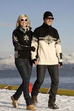 Dale of Norway - ski sweaters - What is winter without Dale of Norway?? (We'd rather not think about it.)  http://dale.no/us/