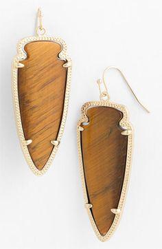 Kendra Scott 'Skylar Spear' Statement Earrings available at #Nordstrom