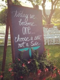 Every wedding should have this sign