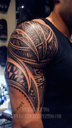 Tattoo Maori In Shoulder #polynesian #tattoo