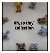 These are so cute and would make nice gifts. Oh, so tiny! Collection - patterns by Justina Kacprzak The patterns are availiable individually too. This pin only takes you to the ravelry ebsite not directly to the patterns. See the Oh So Tiny Sheep pin for a link to the pattern.