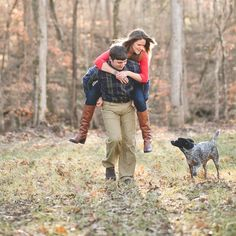 piggy back engagement session | By Shea