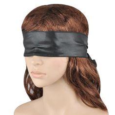 Monkeybrother Schwarze Augenmaske Augenbinde für Rollenspiel oder fesseln und Bondage