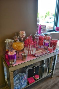 Candy Bar, maybe for Jennifer's girly party??