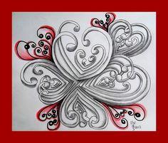 Tekenpraktijk De Innerlijke Wereld: Diva's Challenge 111: Mooka pattern