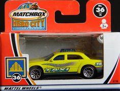 Model Matchbox Taxi